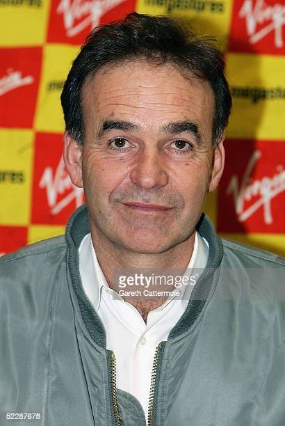 Controversial British filmmaker Nick Broomfield signs copies of The Nick Broomfield DVD Box Set out today at Virgin Megastore Oxford Street on March...