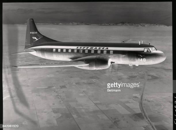 Convair Liner in Flight