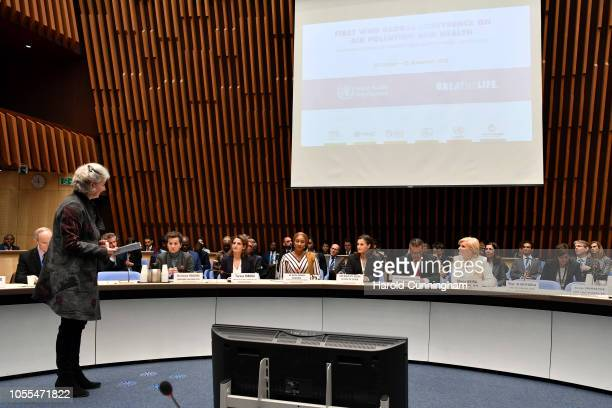 Convener of Mission 2020 Christiana Figueres Spain Minister for Ecological Transition Teresa Ribera Second Lady of the Republic of Ghana Samira...