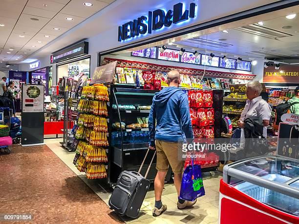 Convenience store at Arlanda Airport, Stockholm, Sweden