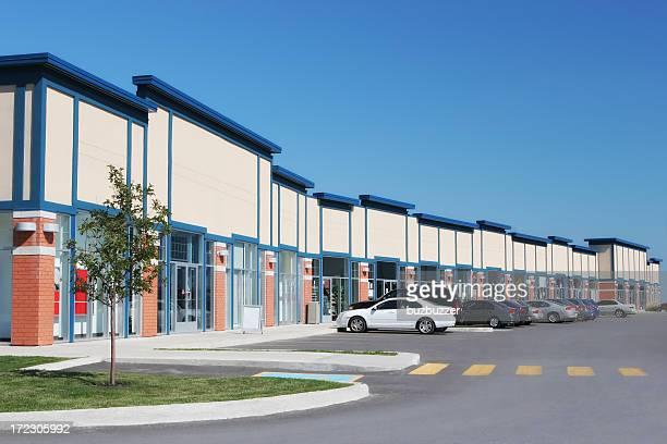 Convenient Strip Mall Store Building