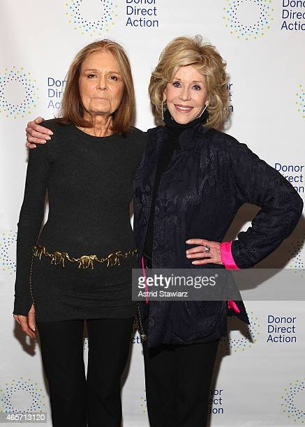 Convenor of the Donor Direct Action Steering Committee cofounder of The Women's Media Center feminist journalist and social activist Gloria Steinem...