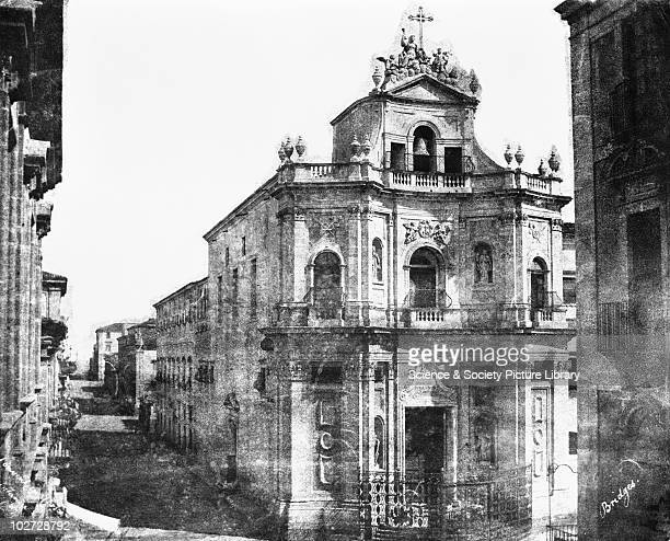 Convent Catania Sicily Italy 1846 Convent Catania Sicily Italy 1846 Calotype by Reverend George Wilson Bridges Bridges went to Sicily in 1846 to take...