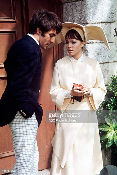 NUN A Convent Full of Miracles Season Three 11/5/69 The nuns welcomed a stranded driver to stay at the convent Alejandro Rey and Sally Field starred