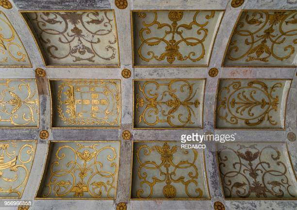 Convent of Christ Convento de Cristo in Tomar It is part of the UNESCO world heritage Europe Southern Europe Portugal April