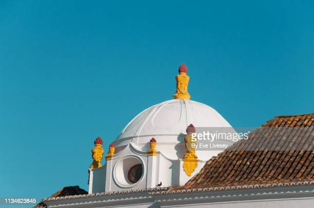 convent of our lady of the assumption - faro city portugal stock photos and pictures