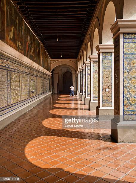 convent of santo domingo - lima peru fotografías e imágenes de stock