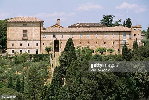 Convent of St Francis of Mount Monteripido Perugia Umbria Italy 13th century