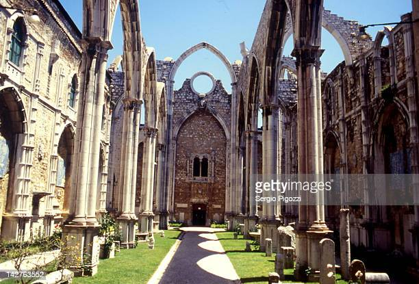 convent of the carmo convent of carmel - convent stock photos and pictures