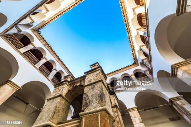 convent - estremadura stock-fotos und bilder
