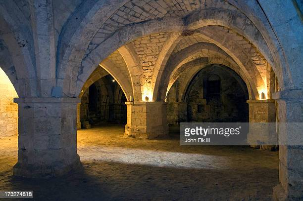 convent st francois - crypt stock photos and pictures