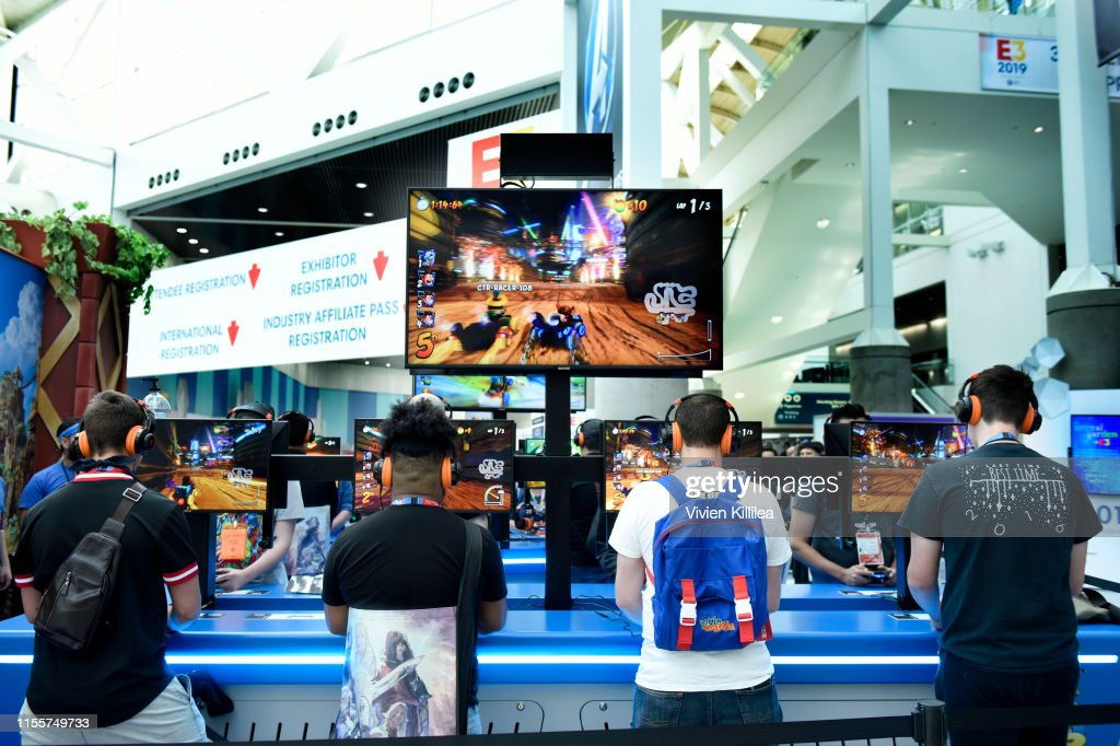E3 - The World's Premier Event for Video Games – South Hall - Day 3 : ニュース写真