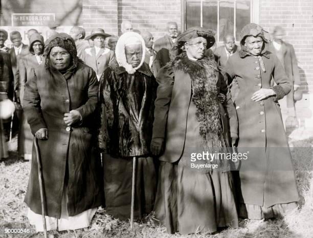 Convention of former slaves Washington DC four elderly African American women