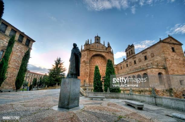 convento de san esteban - salamanca, spain - akademisches lernen stock pictures, royalty-free photos & images