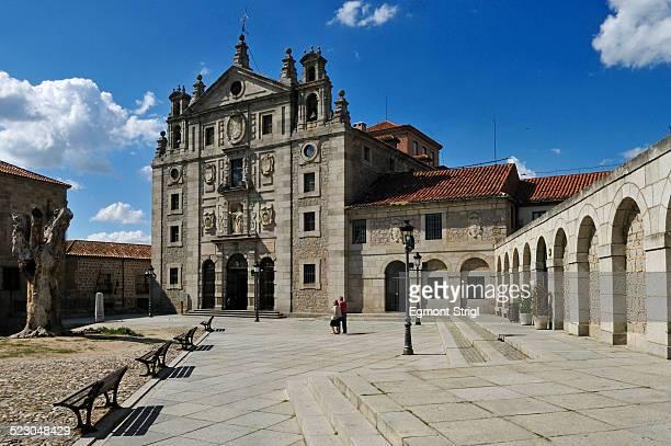 Convento de Santa Teresa, Avila, Unesco World Heritage Site, Castillia y Leon oder Castile and Leon, Spain, Europe