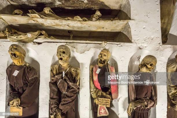 Convento (Monastery) dei Cappuccini, the Catacombe dei Cappuccini (Catacombs of the Capuchin Monks), detail