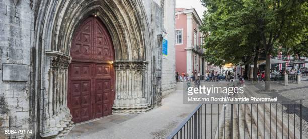 Convento (Convent) do Carmo, the entrance of the Church