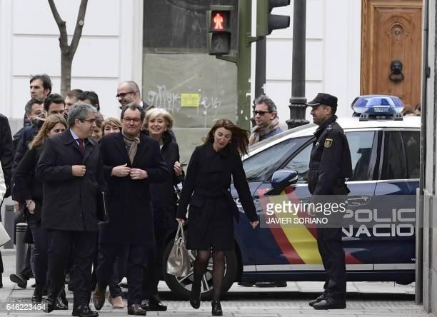 Convergencia Democratica de Catalunya member Francesc Homs and former President of the Catalan Government and leader of Partit Democrata Europeu...