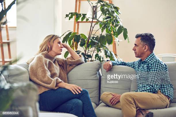conversation and commitment - couple arguing stock photos and pictures