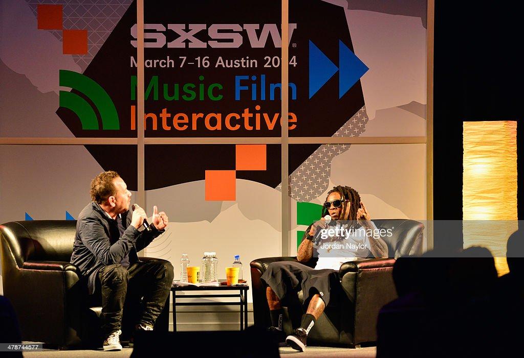 IX - A conversation with Elliott Wilson and Lil Wayne - 2014 SXSW Music, Film + Interactive