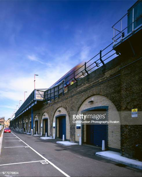 Converted Railway Arches in Deptford