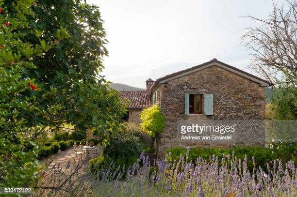 Converted Umbrian barn of artist Andrea Tana