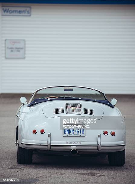 Cabrio im vintage-Rennen