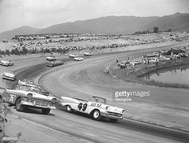 Convertibles became a fan favorite as the drivers were fully exposed to the crowd who loved to watch the drivers work the steering wheel especially...
