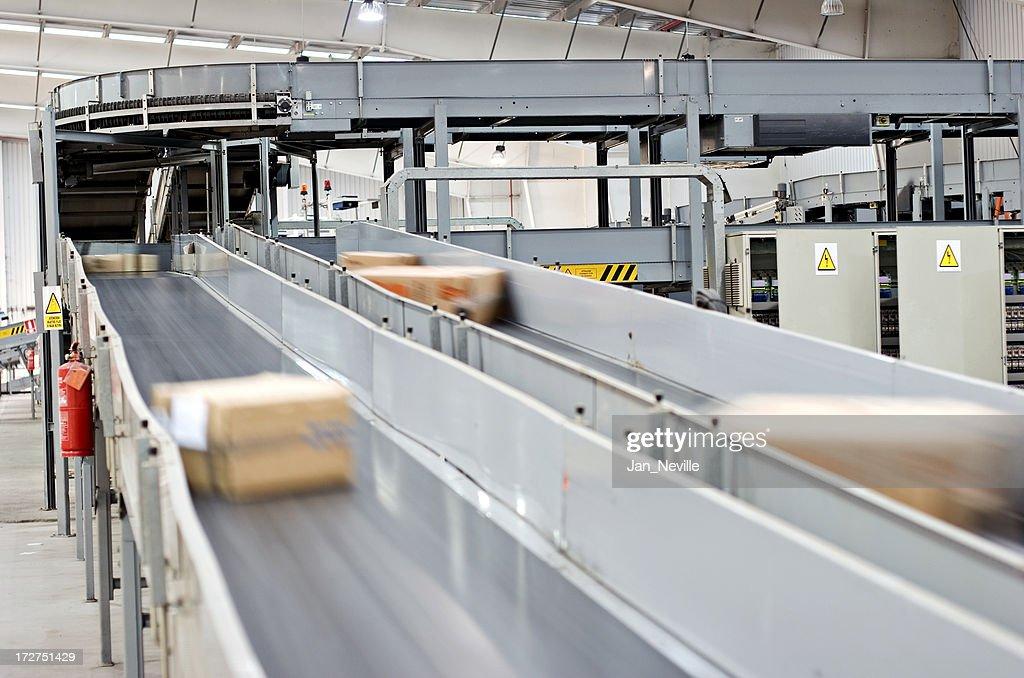 Conveyor Belt : Stock Photo