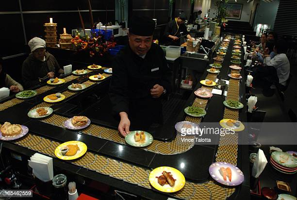 Conveyorbelt sushi Yup you read that right I'm reviewing three such places in Toronto Sushi Train is the newest and the best The visuals are...