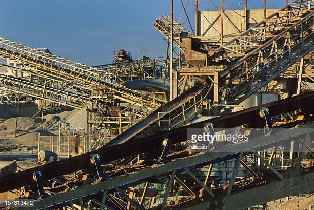 conveyors, rock quarry