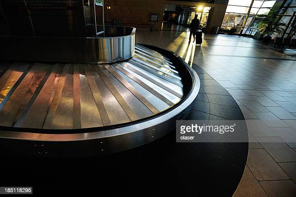 Conveyour belt at airport