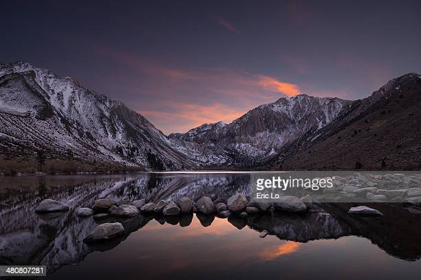 Convict Lake At Twilight