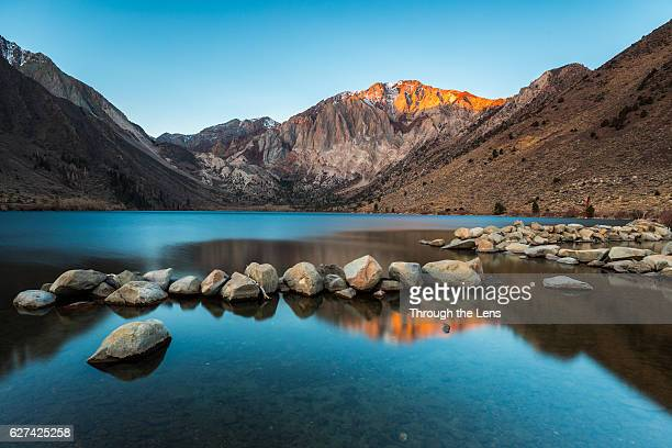 Convict Lake during Sunrise