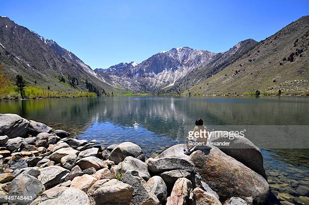 Convict Lake is a popular fishing and camping destination in the Sierra Nevada mountain range near Mammoth Lakes California The lake was named after...