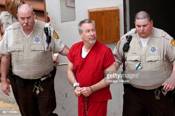Convicted killer Drew Peterson seen here in 2009 was sentenced in 2013 for murdering his third wife Kathleen Savio who was found dead in 2004