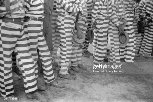 Convicts Greene County Prison Camp Greene County Georgia USA Jack Delano Farm Security Administration May 1941