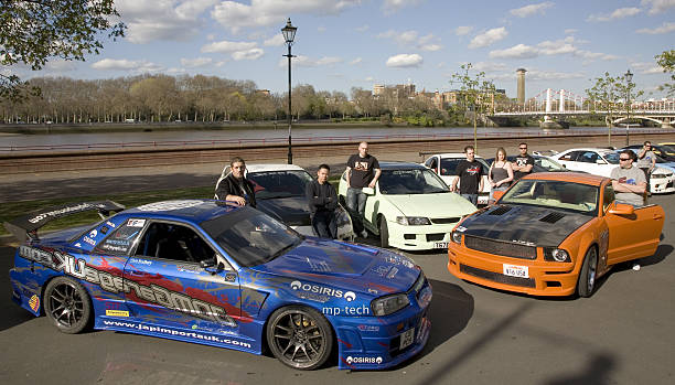Fast And Furious Muscle Car Convoy Pictures Getty Images - We drive fast cars
