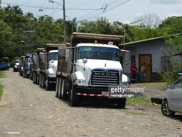 Convoy of Mack Trucks in Costa Rica 2018