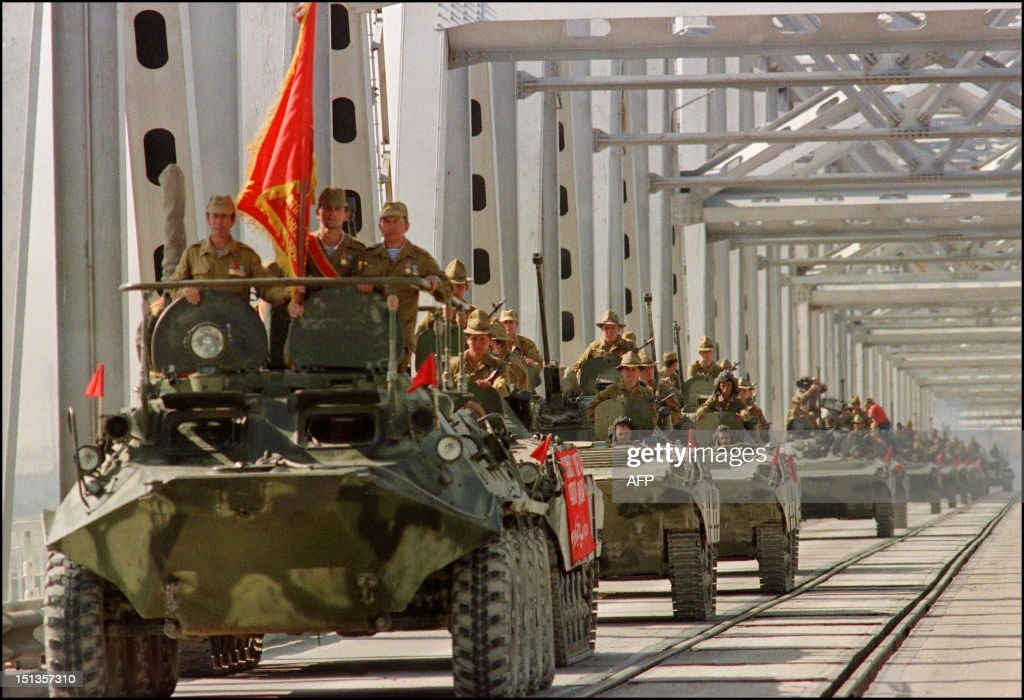 RETRO-AFGHANISTAN-SOVIET TROOPS WITHDRAWAL : News Photo