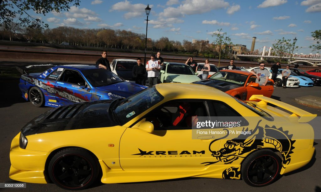 Fast and Furious Muscle Car Convoy Pictures | Getty Images