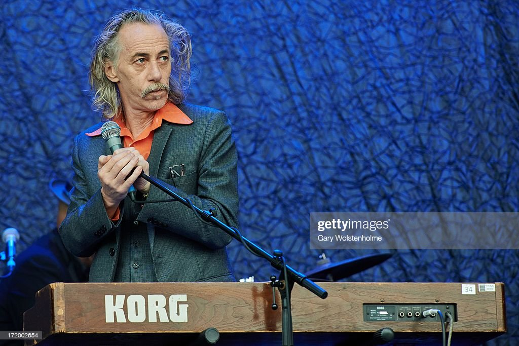Conway Savage of Nick Cave and the Bad Seeds performs on stage on Day 4 of Glastonbury Festival at Worthy Farm on June 30, 2013 in Glastonbury, England.