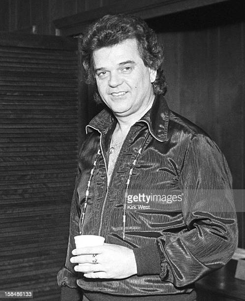 Conway Twitty backstage at Countryside Opry, Chicago, Illinois, March 30, 1980.