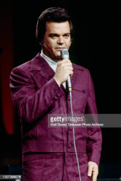 Conway Twitty performing on the ABC tv special 'The 1974 Country Music Awards'.