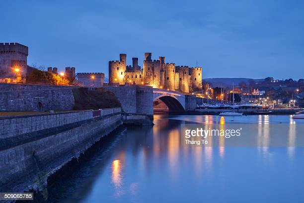 Conwy Castle is a medieval fortification in Conwy on the north coast of Wales Conwy is probably the most impressive of all the Welsh castles with...