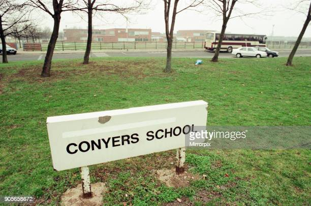 Conyers School Green Lane Yarm Stockton on Tees 11th January 1997