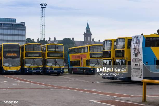 Conyngham road bus depot Dublin Republic of Ireland