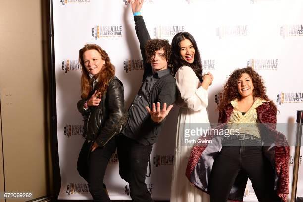 Coochie Seth Graves Salina Hernandez And Lauren Of The Film Kandyland Attend The Nashville