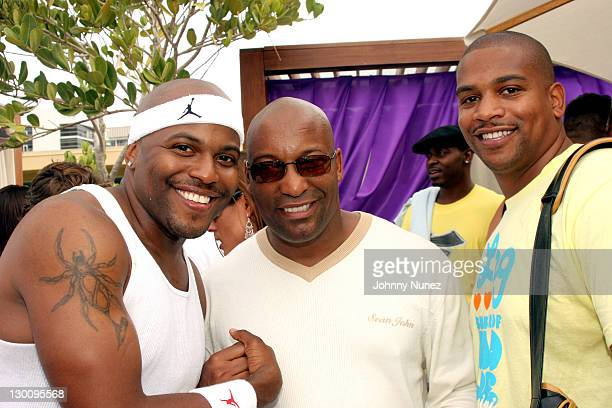 CoodieJohn Singelton and Chike during 2005 MTV VMA John Singelton Party Hosted by DJ Biz Markie and Snoop Dogg at Sanctuary Hotel in Miami Florida...