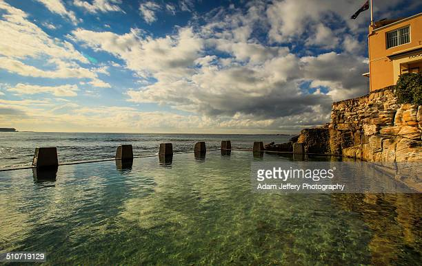 Coogee Beach Rock Pools, Sydney, Australia